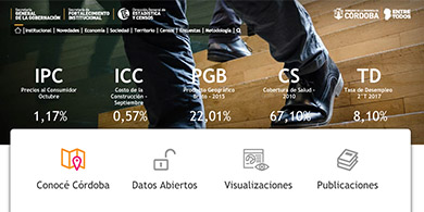 Córdoba se suma a los datos abiertos: