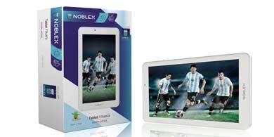 Noblex lanzó su nueva línea de productos para el Mundial