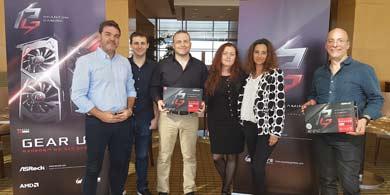 PC-Arts y ASRock presentaron una nueva VGA en Mendoza