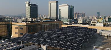Samsung utilizará energía 100% renovable para 2020