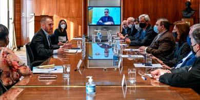Martín Guzmán se reunió con Argencon para discutir la Economía del Conocimiento