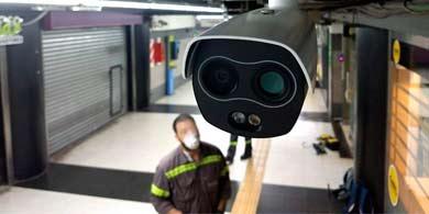 Instalan cámaras térmicas Dahua en el subte de Buenos Aires