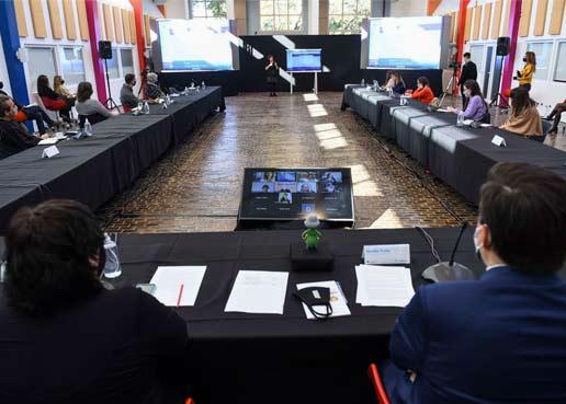 Educación presentó los avances de Juana Manso, que ahora incluye videoconferencias