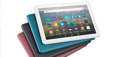 Amazon lanzó su renovada línea de tabletas Fire