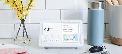 ¿Cómo es el nuevo Google Home Hub?