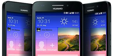 f53d0b057f9 ... el Huawei Y550, su primer smartphone con tecnología 4G LTE producido en  Tierra del Fuego a través de Newsan, su socio local. Tiene un precio  sugerido de ...