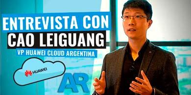 ¿Cuál es la estrategia Cloud de Huawei en Argentina? Entrevista con Cao Leiguang