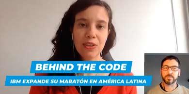 IBM extiende su Maratón Behind the Code a América Latina. Entrevista con Gabriela Retamosa