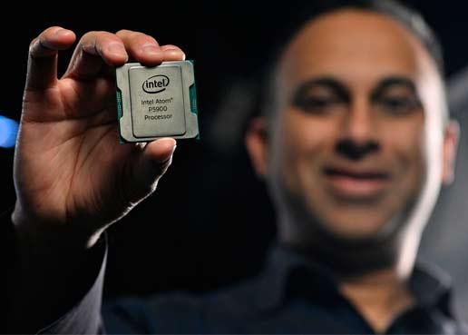 Intel anunció una nueva cartera de productos para infraestructura de red 5G