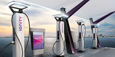 La europea Ionity espera tener 400 estaciones de carga para autos eléctricos