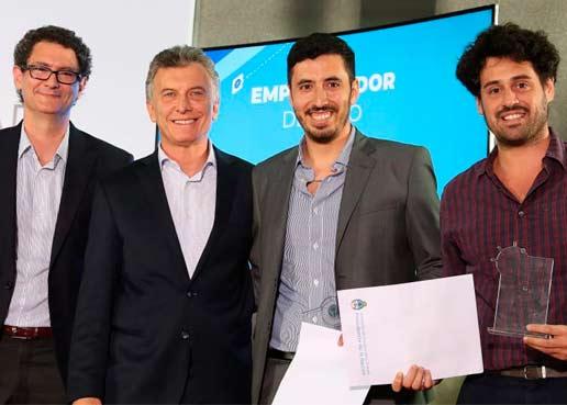 Quién es Jairo Trad, el Emprendedor del Año elegido por el Gobierno