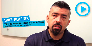 Kingston y su foco en HyperX. Videoentrevista con Ariel Plabnik