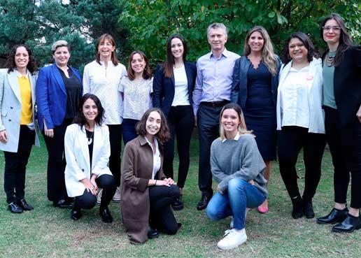 ¿Quiénes son las Mujeres TIC que hoy estuvieron reunidas con Macri?