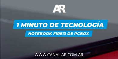 1 Minuto de Tecnología: Notebook Fire!3 de PCBOX