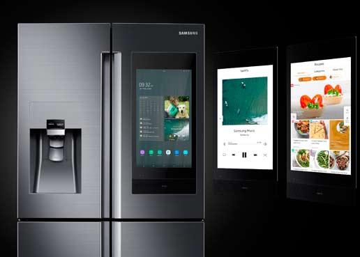 Samsung, y su visión de heladera como núcleo familiar