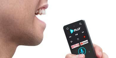 TeleCentro innova con un nuevo control remoto con comando por voz