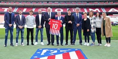 Telefónica llevará Big Data al Atlético Madrid para mejorar la experiencia del hincha
