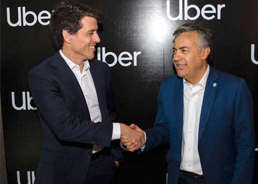 Mendoza le dió la bienvenida a Uber